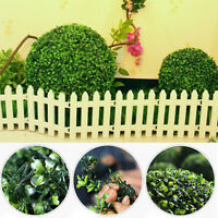 Artifical Grass Ball Plastic Topiary Hanging Garland Home Decor 12/20/25/30cm