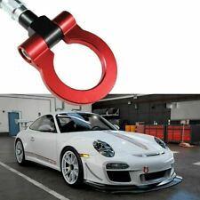 Red Track Racing Style Aluminum Tow Hook For Porsche Panamera 2010-2016