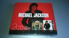 CD MICHAEL JACKSON : DANGEROUS / BAD (COFFRET 2 CD)