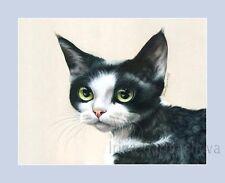Estampado de Gato Devon Rex By Irina garmashova