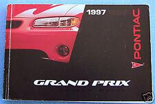 pontiac other manuals literature for pontiac grand prix for sale rh ebay com 1997 Grand Prix 2006 Grand Prix