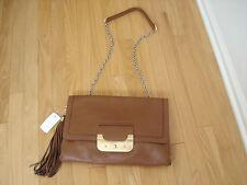 Women's handbag purse Diane von Furstenberg LUGGAGE envelope crossbody clutch NW