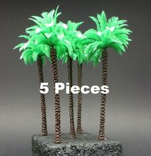 DioDump DD092 Palm Trees #1 (5 pieces) 12cm for H0 or 1:72 diorama scenery