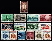 1959 Commemorative Year set  (15 Stamps) - MNH