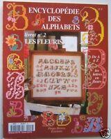 ENCYCLOPEDIE DES ALPHABETS N° 2  - les fleurs