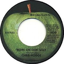 """Chris Hodge - We're On Our Way/Supersoul - Apple 7"""" 45"""