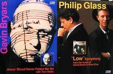 PHILLIP GLASS, GAVIN BRYARS POSTER (G2)