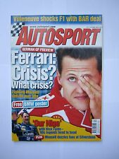 Autosport magazine 27th July 2000