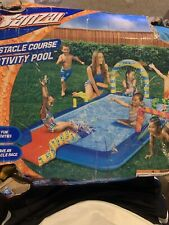 Brand New Banzai Obstacle Course kids child's swimming pool