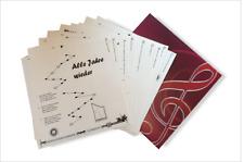 12 Weihnachtslieder - extra große Notenschrift- für Harmonieharfe, Veeh-Harfe