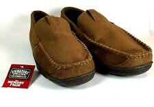 Men's Levi Strauss Signature Slippers Sz 13/14 memory foam indoor/outdoor Brown