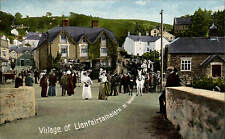 Llanfairtalhaiarn Village by North Wales Post Card Co.,Rhyl.