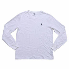 Polo Ralph Lauren Classic Fit T-shirt V-neck Mens Long Sleeve Tee Pony Logo Nwt