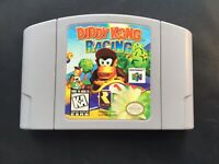 🔥 DIDDY KONG RACING 64 Genuine USA NTSC Nintendo 64 Authentic Cartridge N64 🔥