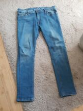 Men's Super Skinny Jeans By River Island Size 32""