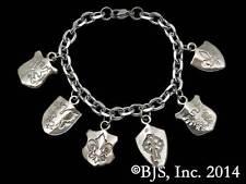 Harry Dresden's Shield Bracelet, Bronze, Dresden Files Jewelry, Jim Butcher