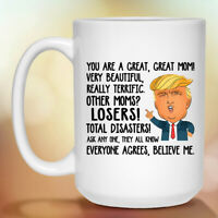 Funny Great Mom Mommy Gift For Mothers Day Coffee Mug 11oz 15oz