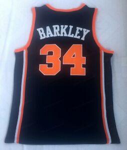 Charles Barkley #34 Auburn College Basketball Jersey Sewn Blue S-2XL