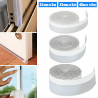 16FT Self Adhesive Weather Stripping Silicone Seal Sweep Strip for Door Window