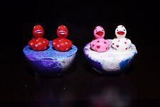 Rubber Ducky ultra lush rainbow galaxy love spell scent Surprise bath bomb bombs