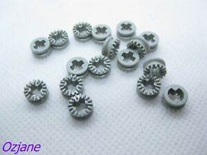 LEGO PART 4265A LIGHT GREY TECHNIC BUSH 1/2 TOOTHED TYPE 1 FOR 10 PIECES