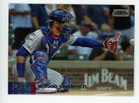 2020 Topps Stadium Club #291 WILSON CONTRERAS Chicago Cubs PHOTO BASEBALL CARD