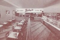 Vintage Boley's Bakery Dairy Lunch Huntsville Ontario Unposted Post Card H089
