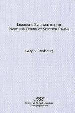 Linguistic Evidence for the Northern Origin of Selected Psalms-ExLibrary