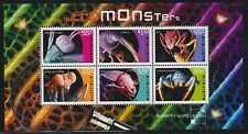 Australia Scott 3120 Xf Mnh 2009 Micro-Monsters Insects & Spiders Mini-Sheet
