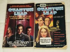 Lot 2 Quantum Leap Paperbacks: Lock Ness Leap and Knights of the Morningstar