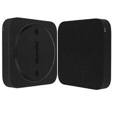 Skinomi Black Carbon Fiber Skin Cover for Apple Mac Mini (Late 2012)