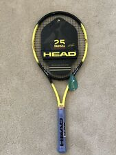 NEW Head Radical OS Andre Agassi Ltd.Tennis Racquet Pre strung Grip Size 4 3/8