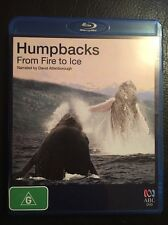 Humpbacks From Fire To Ice Bluray - Narrated By David Attenborough- Region B