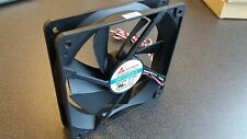 120mm Case Fan Y.S. Tech DC Brushless Fan KM121225LS 3 Pin Power Connection