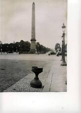 Liberation Of Paris. 2 Photos.  Place De La Concorde, L'Hotel  Du Touring Club.