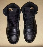 Air Jordan Retro I High OG 1 Black Gum Light Brown Size 10.5
