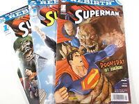 Auswahl SUPERMAN Rebirth Heft # 1 - 21 von 21 ( Panini ) NEUWARE