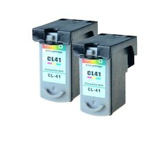 2PK CL-41 cl41 Color Ink Cartridge for Canon PIXMA iP2600 MP140 MP150 MP160
