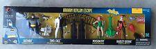Arkham Asylum Escape Four Figure Pack Harley Quinn Batman TwoFace Poison Ivy
