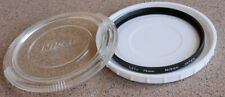 Nikon 72mm L37C UV Glass Filter in case - for Skylight UV Haze protection
