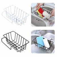 Kitchen Sink Organiser Hanging Storage Basket Dish Cleaning Drying Sponge Holder