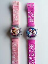 Girl Kid Child Pink Frozen Elsa Anna Digital Wrist Watch birthday Easter Gift