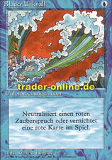 Big Bang Blu (Blue Elemental Blast) Magic limited black bordered German BETA F