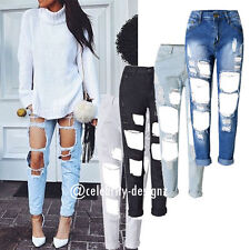 Denim Mid-Rise Boyfriend Machine Washable Jeans for Women