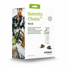Phonak Serenity Choice™ Work -Reusable Earplugs NRR 16 dB US Seller
