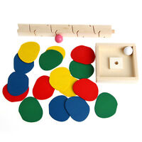 Wooden Tree Ball Run Chip Track Game Supplies Kids Educational Intelligence Toy