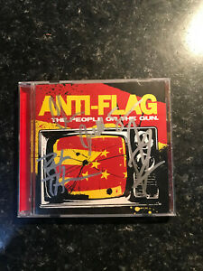 Anti-Flag - People or the Gun (2009) CD - Signed by Band, punk, rare