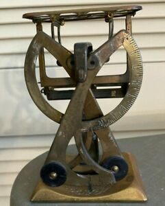 Vintage Metal Scissor Scale