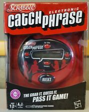 Scrabble Electronic Catch Phrase Game In Box Age 12+ Hasbro Family Fun