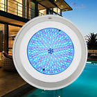 18W Stainless+PC Filled LED Swimming Pool lights RGB Multi-color 12V Retro Fit